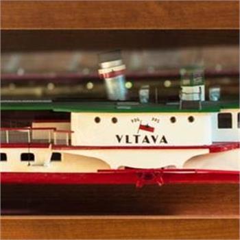 Miniatura parníku Vltava