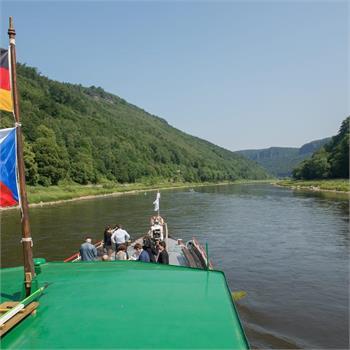 Setkání premiérů Česka, Saska a Saska-Anhaltska na parníku Vltava