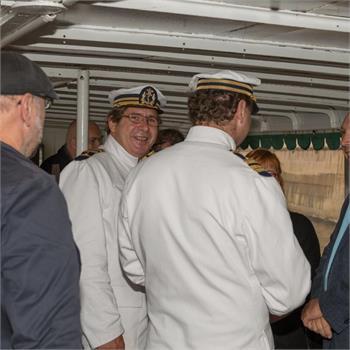 Slavnostní předání historických parníků pod památkovou ochranu