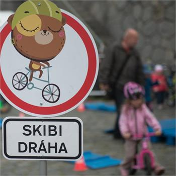 Rašínovo nábřeží ožilo cyklistickým festivalem