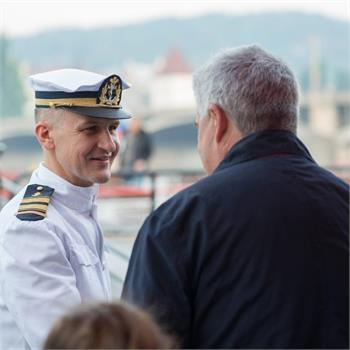 První letošní plavba na Slapy se vydařila