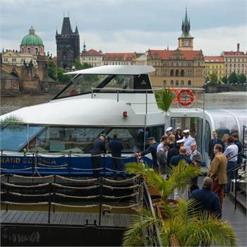 Loď Grand Bohemia slavnostně představena