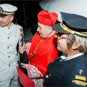 Kardinál Dominik Duka požehnal Grand Bohemii