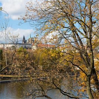 Podzim na Vltavě
