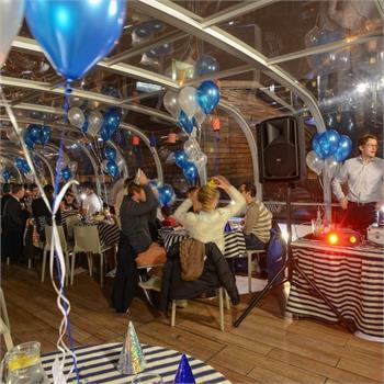Silvestrovská výzdoba našich lodí
