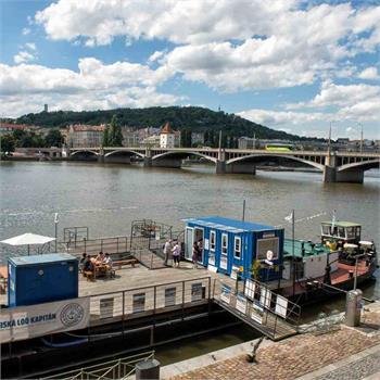 Nová kancelář Pražské paroplavební společnosti