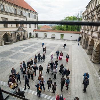 Prohlídka zámku Nelahozeves