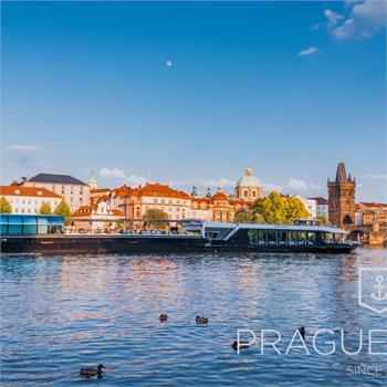 Loď Grand Bohemia - nejmodernější loď v Praze