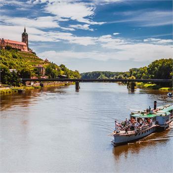 Plavba na Mělník parníkem Vltava