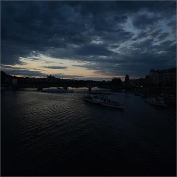Soumrak nad Prahou