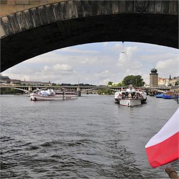 Parník Vyšehrad plavba Prahou
