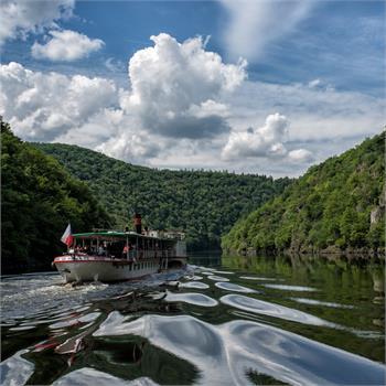 Plavba na Slapy parníkem Vltava