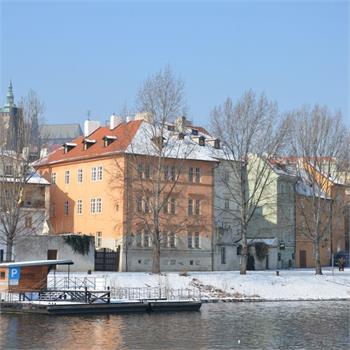 Zima na Vltavě