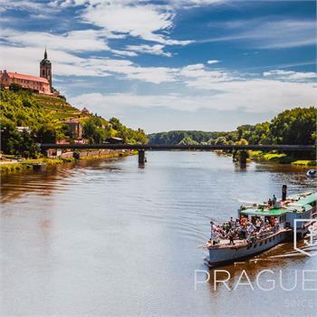 Parník Vltava - plavba na Mělník