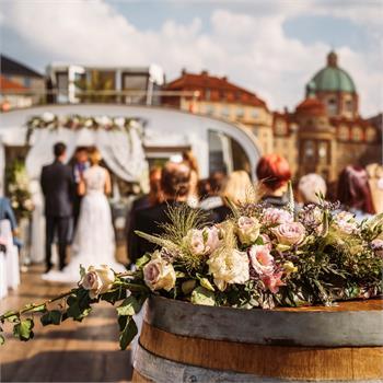 Nejkrásnější obřad na Vltavě
