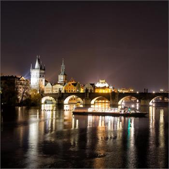 Kouzlo zimní Prahy