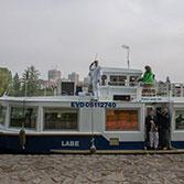 Alternativní lodní doprava při stávce 16.6 2011