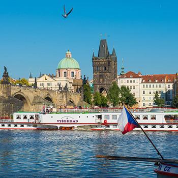 Kolesové parníky unikátem Prahy