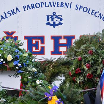 Květinová plavba pro Václava Havla