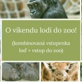 O víkendu do zoo s kombinovanou vstupenkou