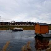 Provoz nového přívozu v Praze - Troji