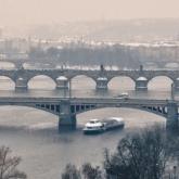Zimní plavby - jen od Čechova mostu
