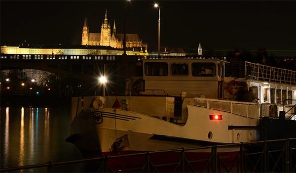 Silvestrovská plavba s DJ na lodi Cecílie