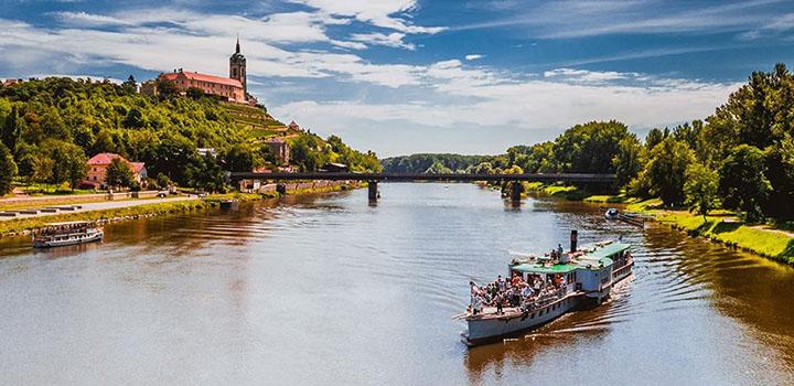 plavba Praha-Mělník