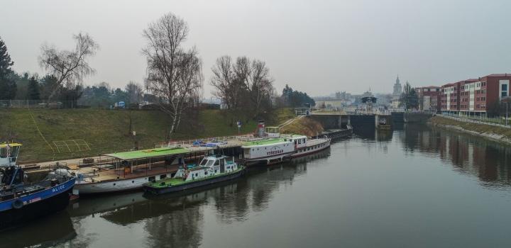 Rekonstrukce parníku Vltava