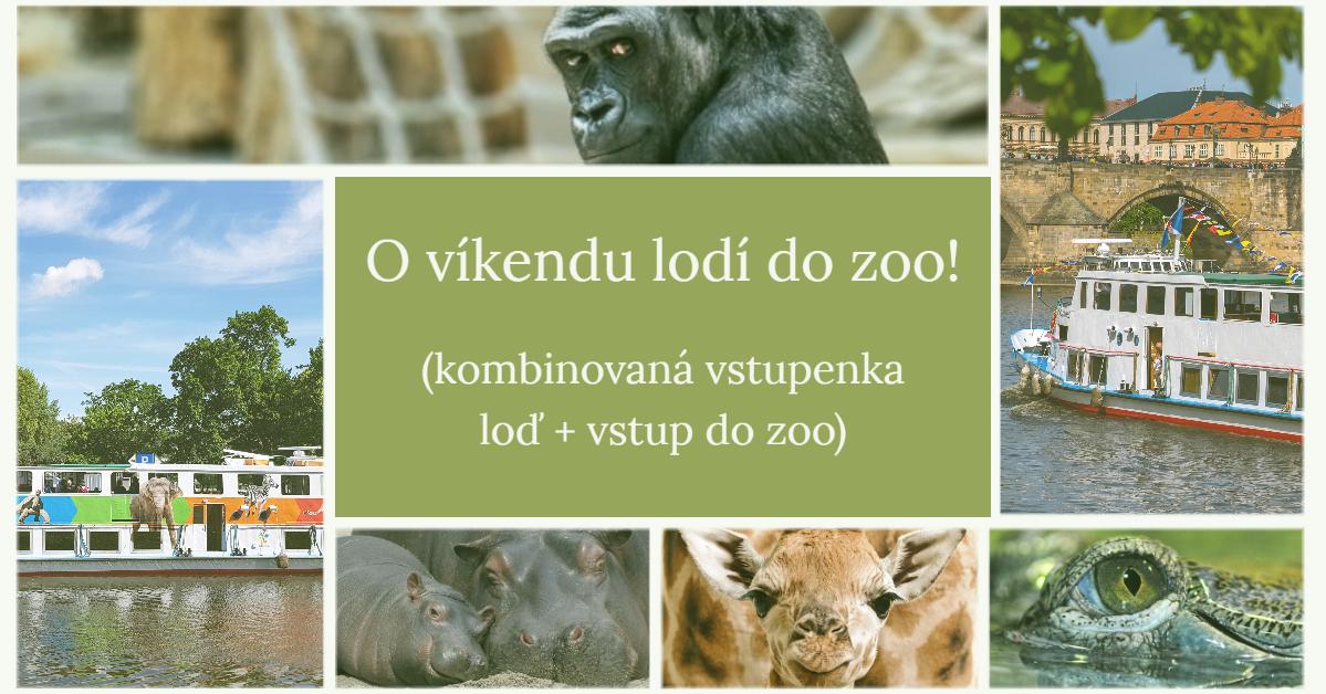 Kombinovaná vstupenka do zoo