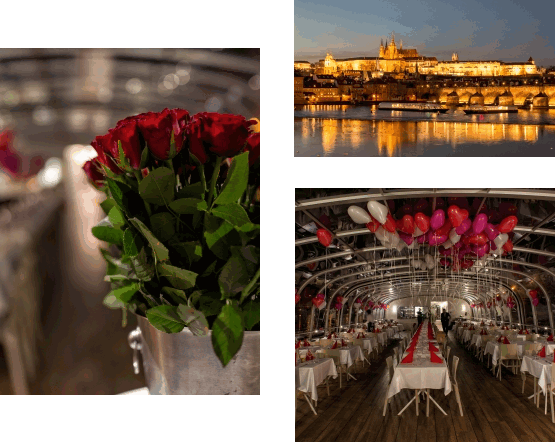 Valentýnská Prague by Night na Bohemia Rhapsody